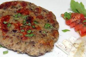 hamburger di semi di soia