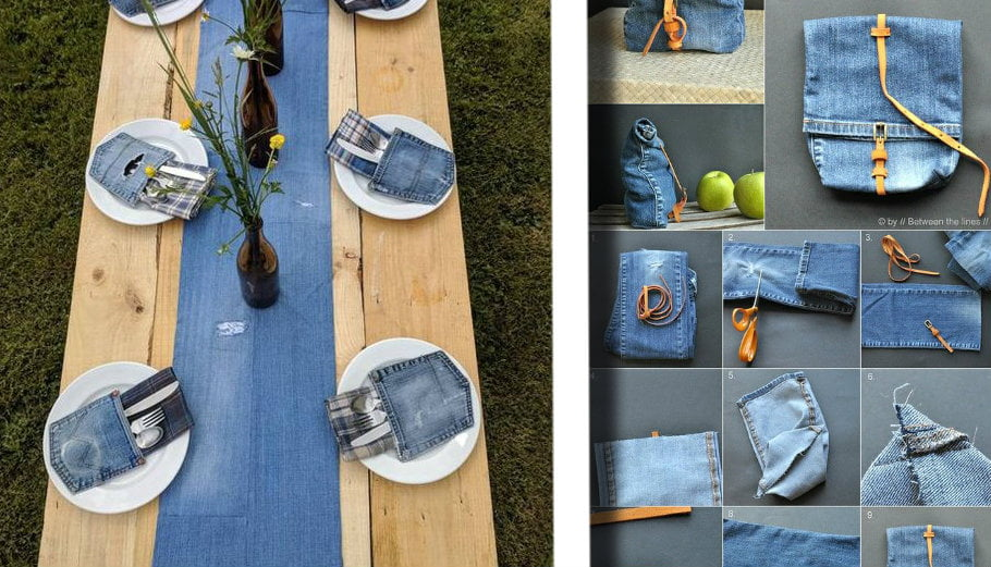 Cuscini Di Jeans.Riciclo Vecchi Jeans 26 Idee Da Non Perdere Con Tutorial