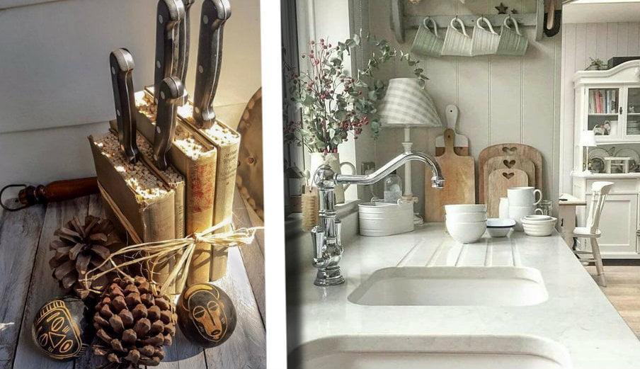 Cucina shabby chic lo stile che ti permette di arredare for Shabby chic blog italiani