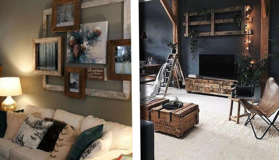 Decorare le pareti di casa con il riciclo creativo: idee da ...