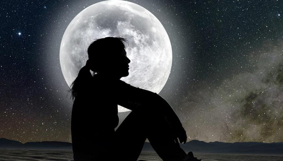 Capelli e luna