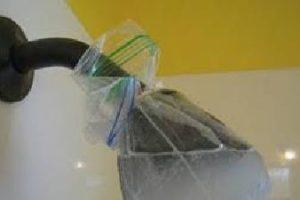 come pulire la cipolla della doccia