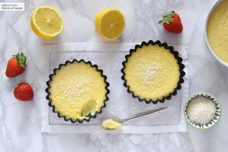 crema impossibile al limone e cocco