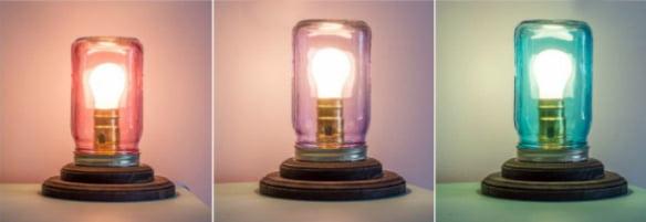 lampade barattolo
