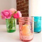 colorare contenitori di vetro
