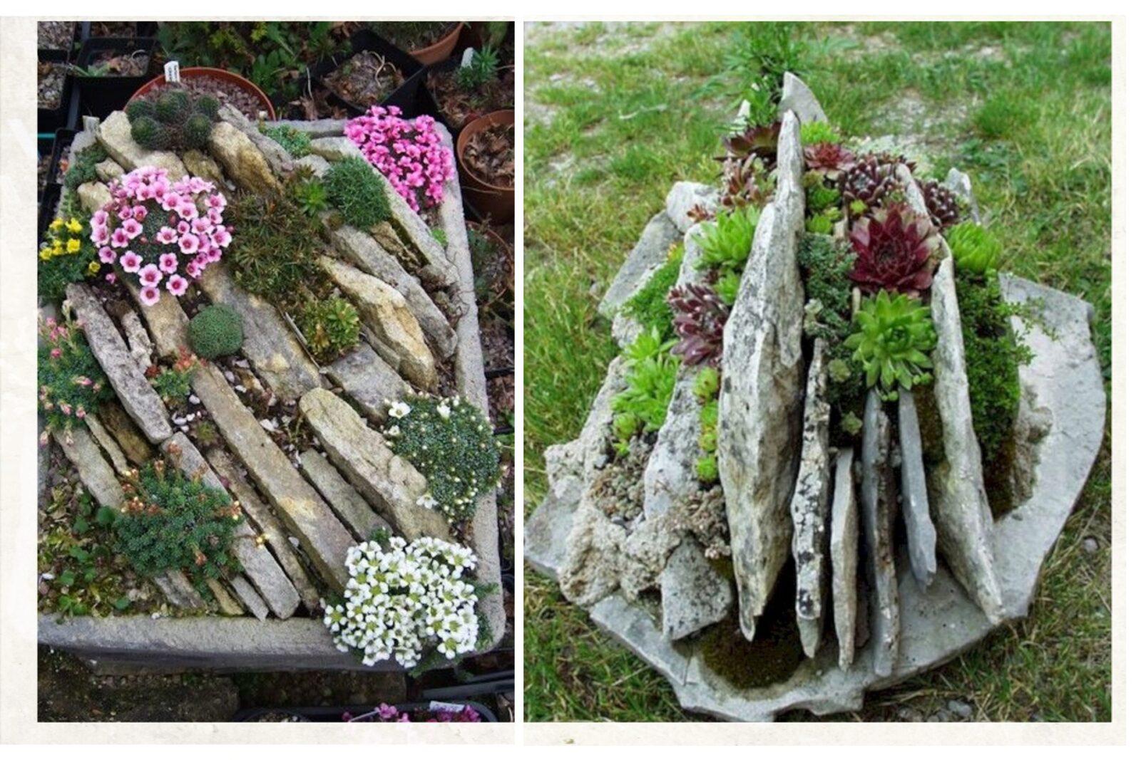 Conosciuto Giardini rocciosi fai da te, grandi e piccoli: Idee semplici da LX77