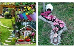 riciclo in giardino 20 idee decorare il giardino 1