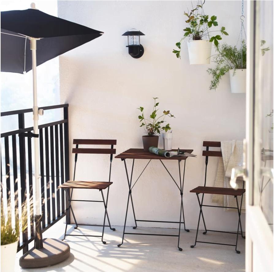 Arredare Il Balcone Ikea 20 idee per arredare il balcone piccolo, semplici e spesso