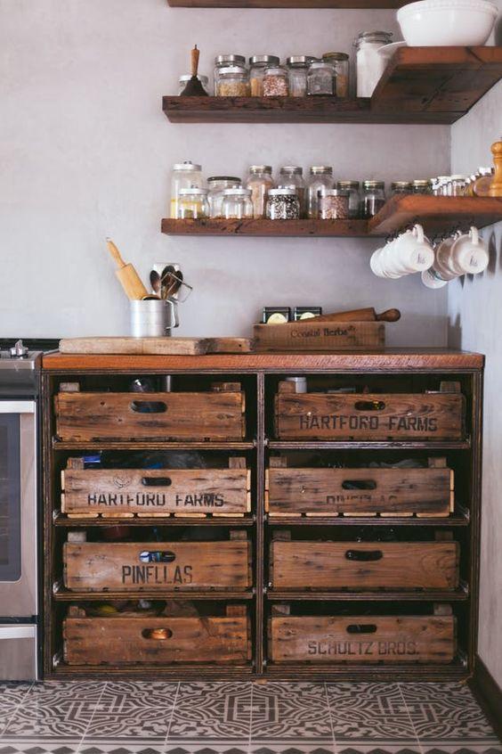 Organizza la tua cucina in stile rustico
