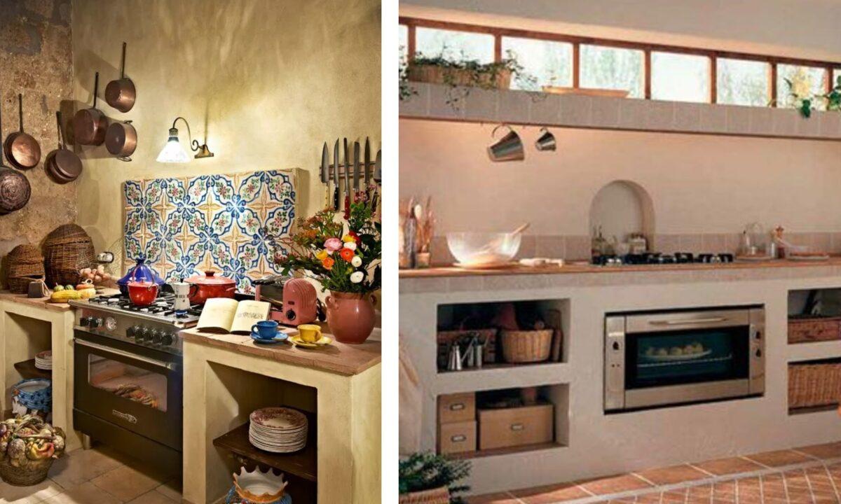 Una Cucina In Muratura Vera O Finta Ecco La Differenza