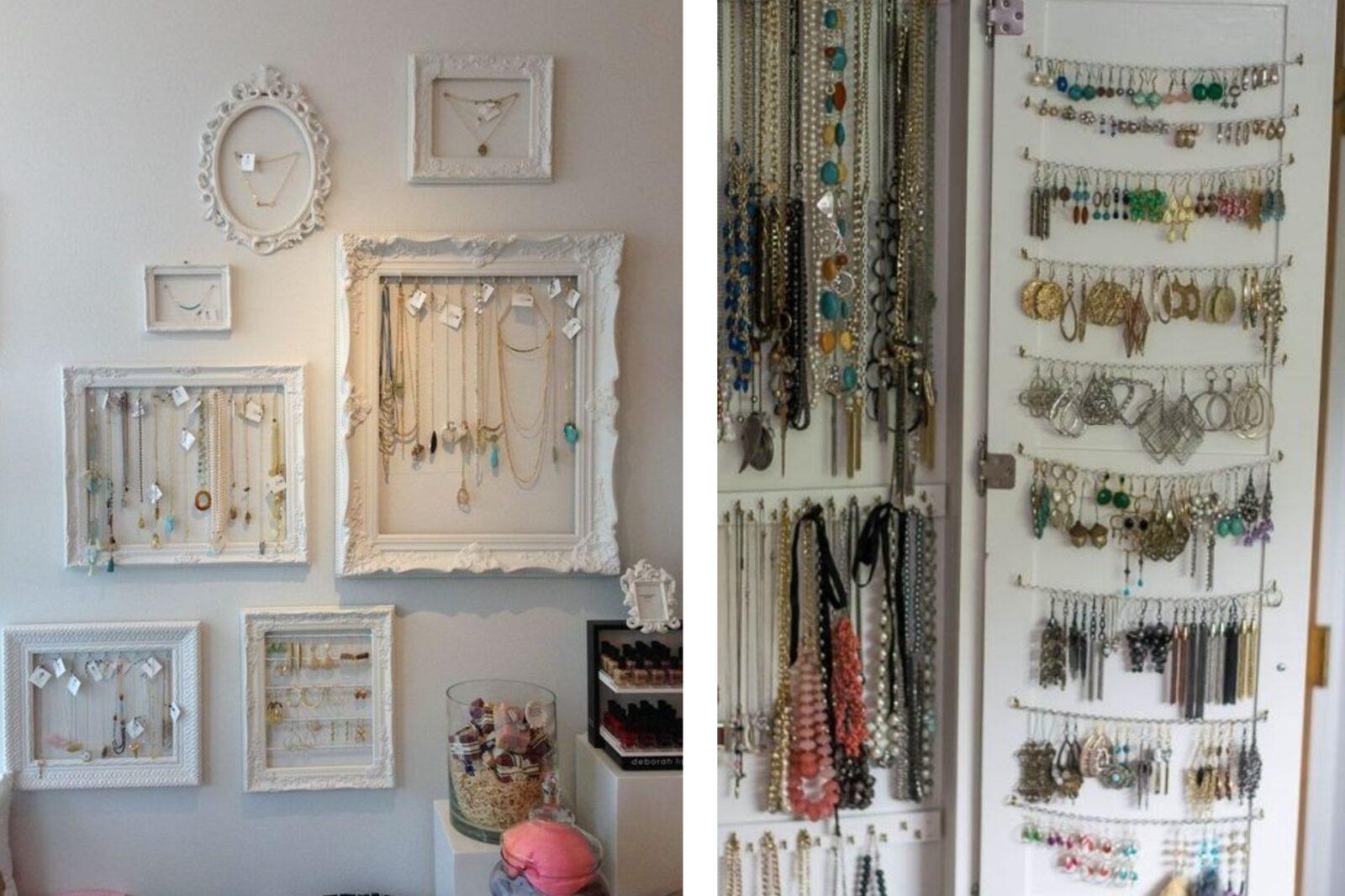 Idee Per Porta Orecchini porta gioielli fai da te: tante idee tutte da copiare!
