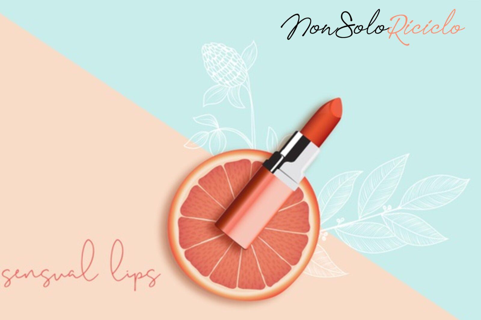 Il rossetto arancione