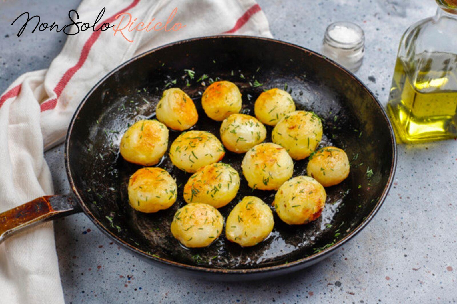 Il trucco per patate croccanti