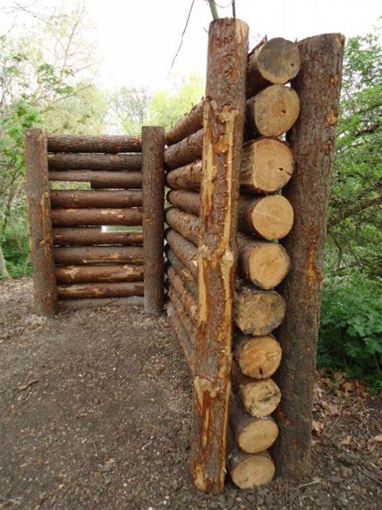 Tronchi Di Legno In Giardino 25 Idee Da Cui Prendere Spunto