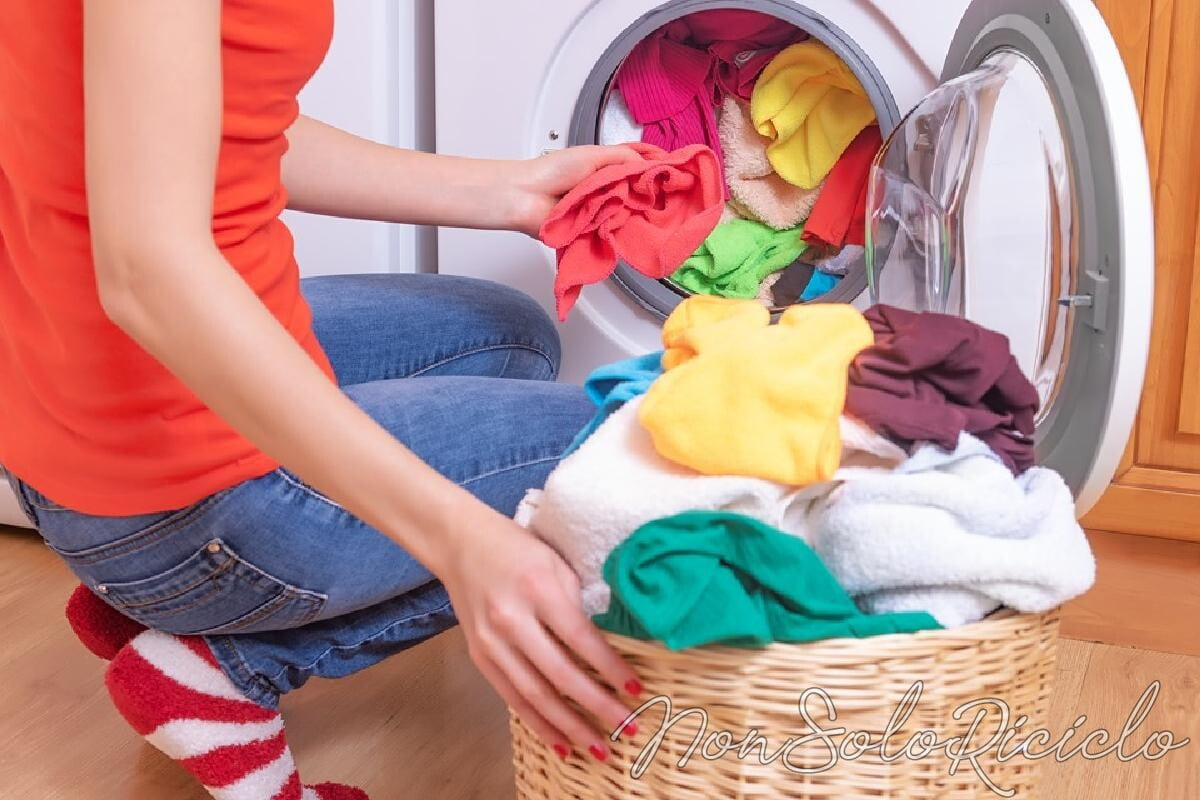 lavare i capi colorati