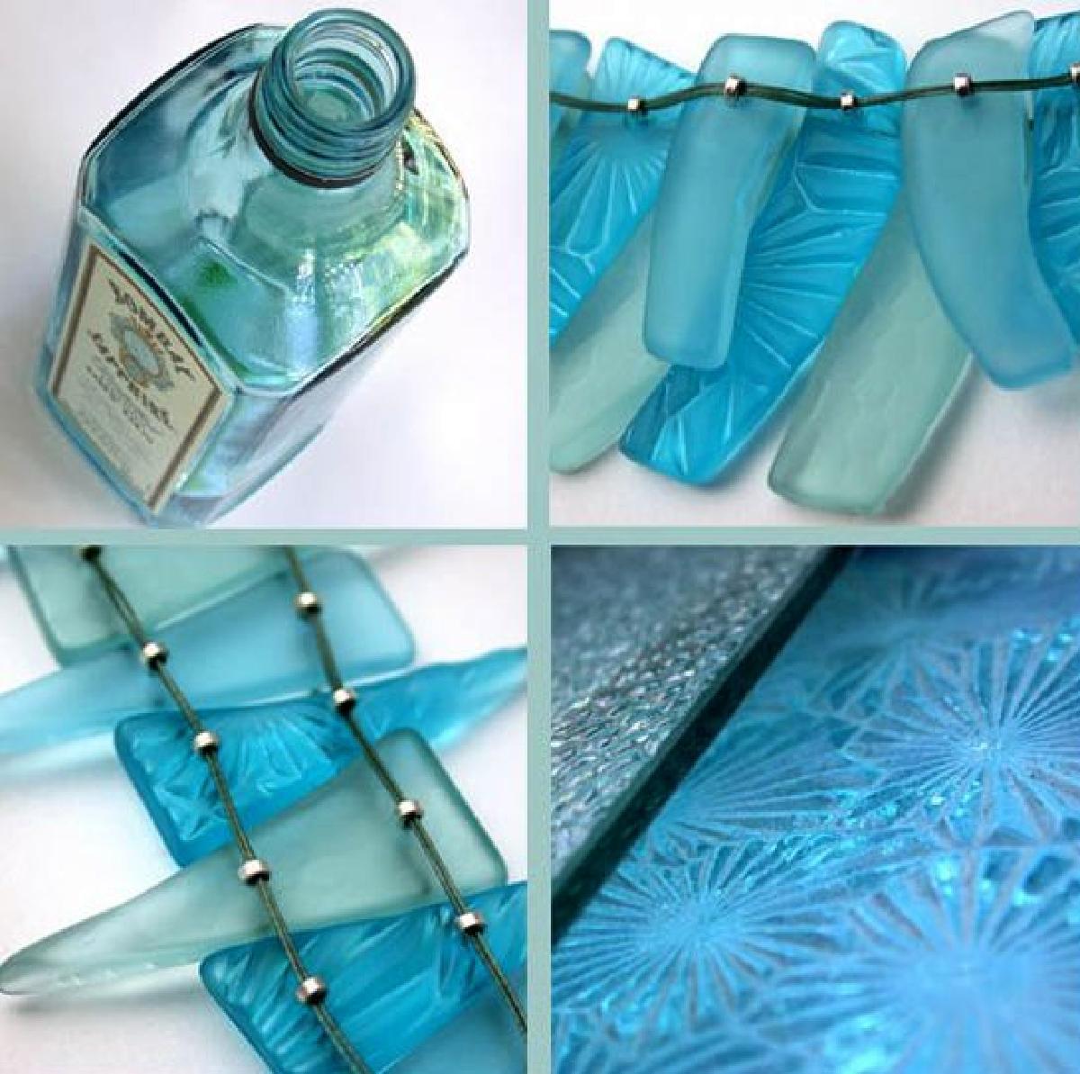 riciclare bicchieri rotti