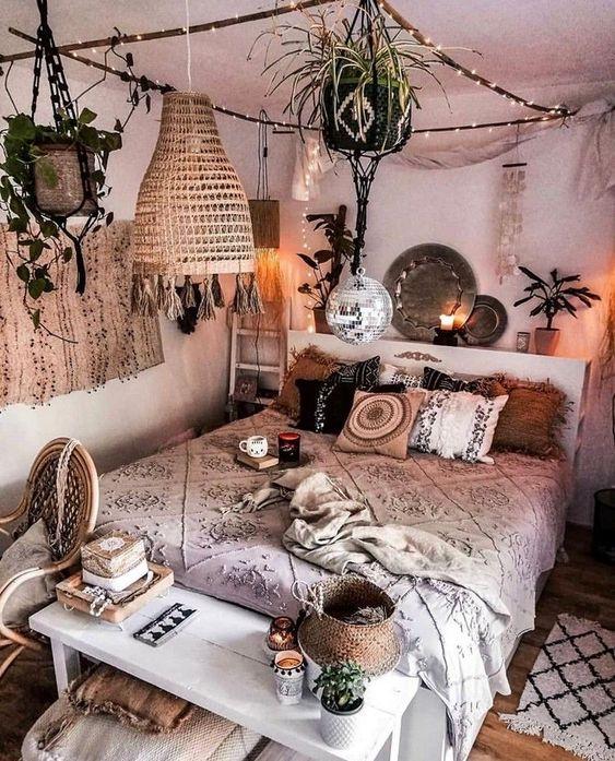 Camera da letto Bohemien
