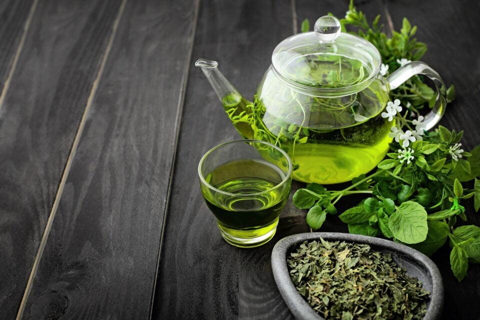 il tè verde che depura