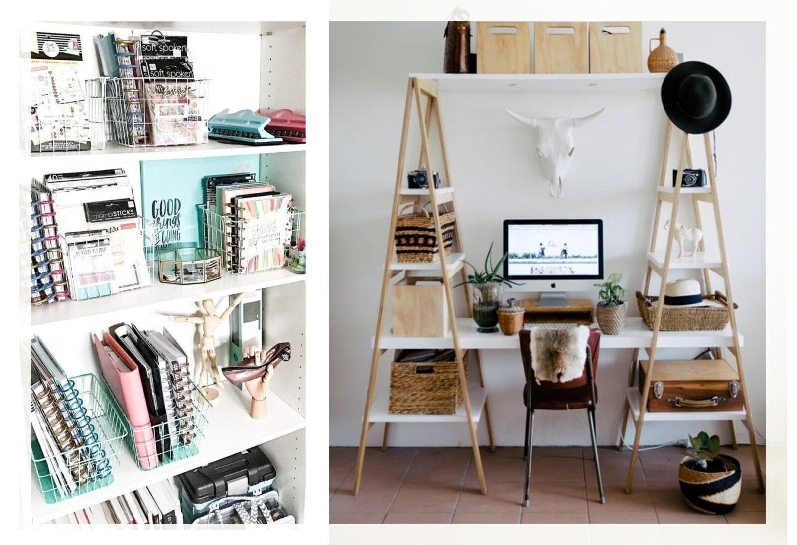 Organizzare un piccolo ufficio in casa: Idee semplici per ...