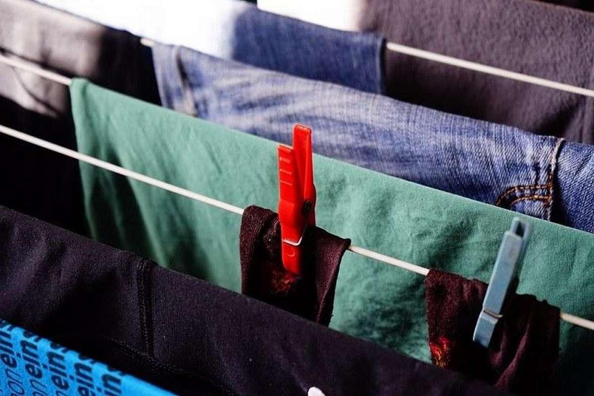 asciugare i panni in casa