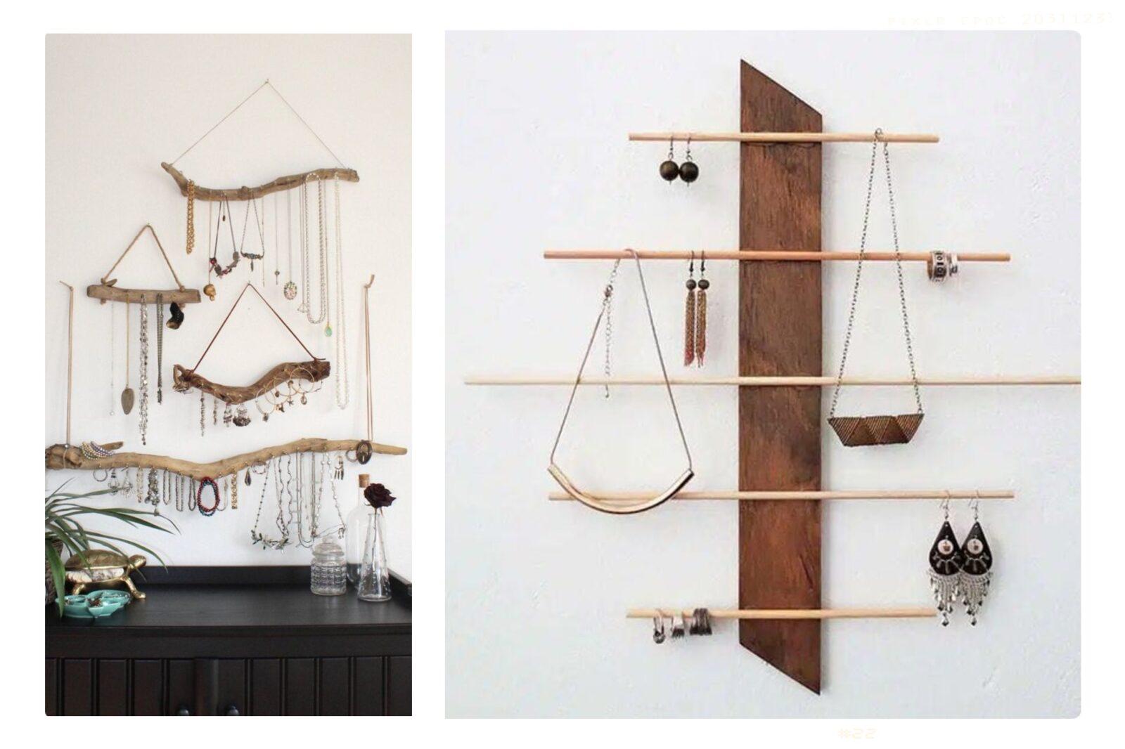 Come organizzare i tuoi gioielli con il fai da te. Organizza e arreda!