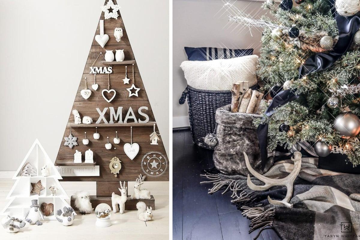 Alberi Di Natale Fai Da Te.Albero Di Natale Fai Da Te Rustico Ma Moderno Un Idea Strepitosa