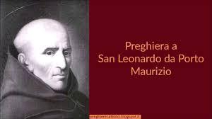 Santo del Giorno 26 Novembre: San Leonardo da Porto Maurizio