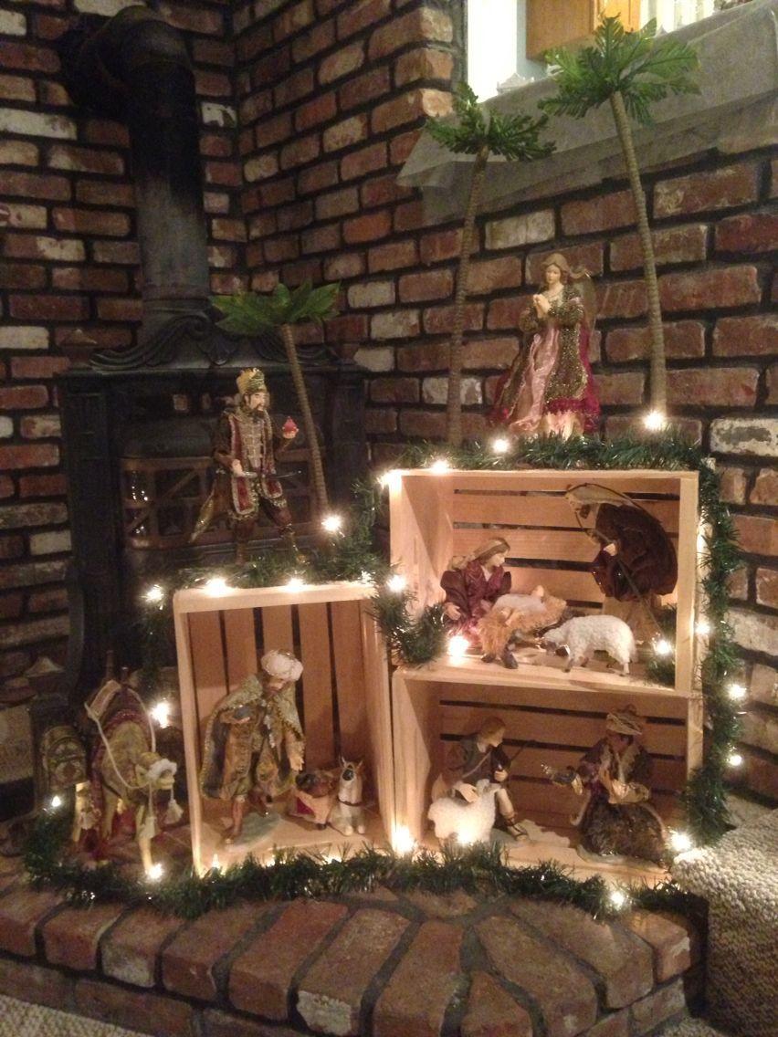 Decorazioni natalizie con le cassette della frutta: 20 idee per un magico Natale