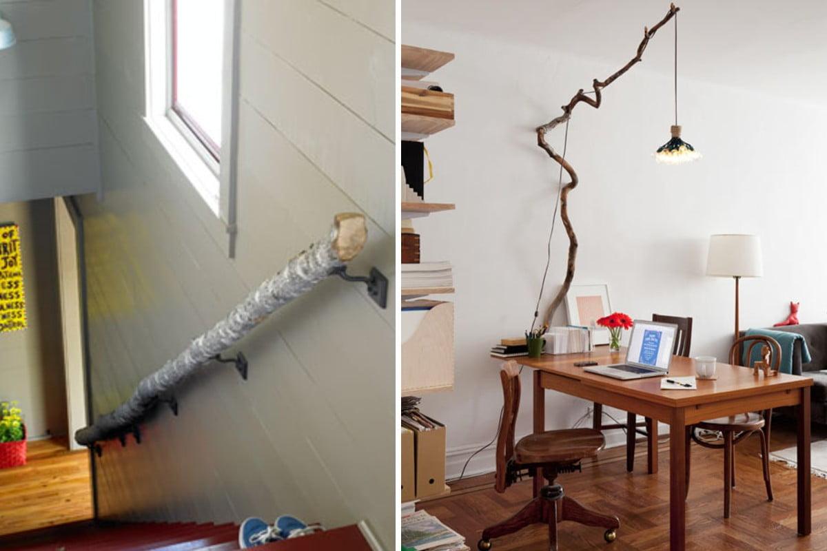 arredare casa con i rami arredare casa con i rami
