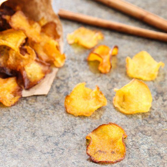 Chips di zucca al forno: dietetiche e più buone delle patatine