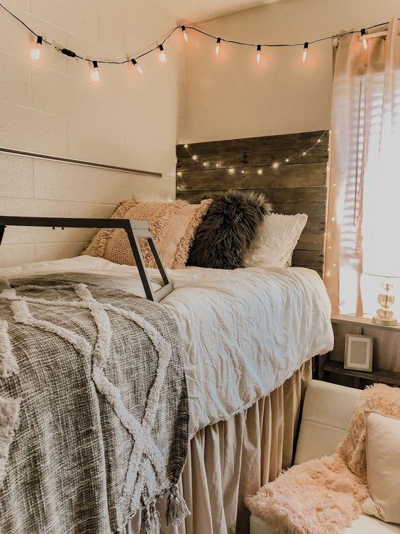 come rendere accogliente un appartamento stringlights