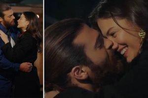 Can non parte più, Sanem lo bacia