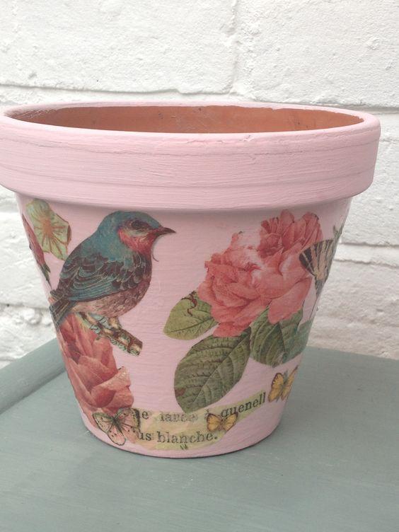 decorare i vasi dei fiori 1