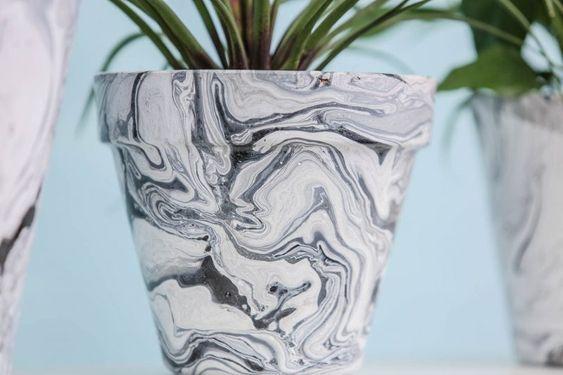 decorare i vasi dei fiori 2