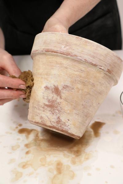 decorare i vasi dei fiori 4