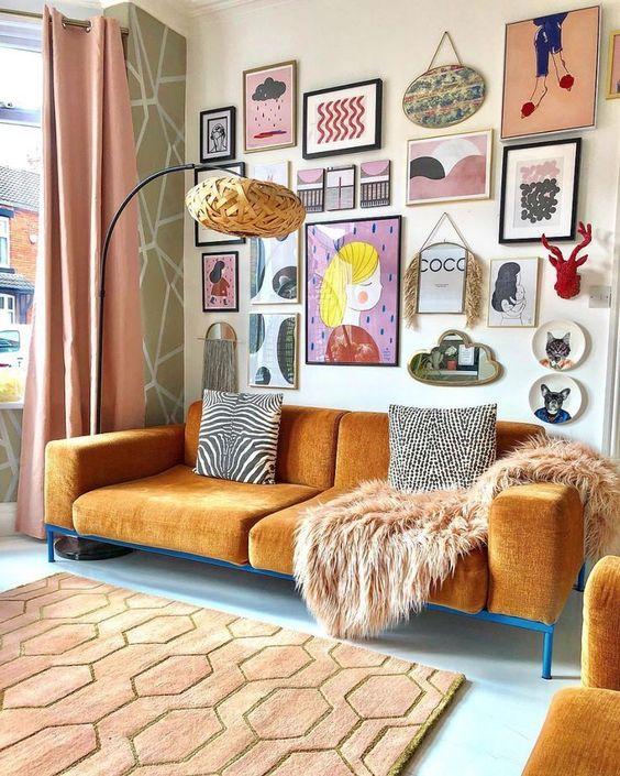 Decorare la parete del soggiorno: ispirazioni da non perdere!