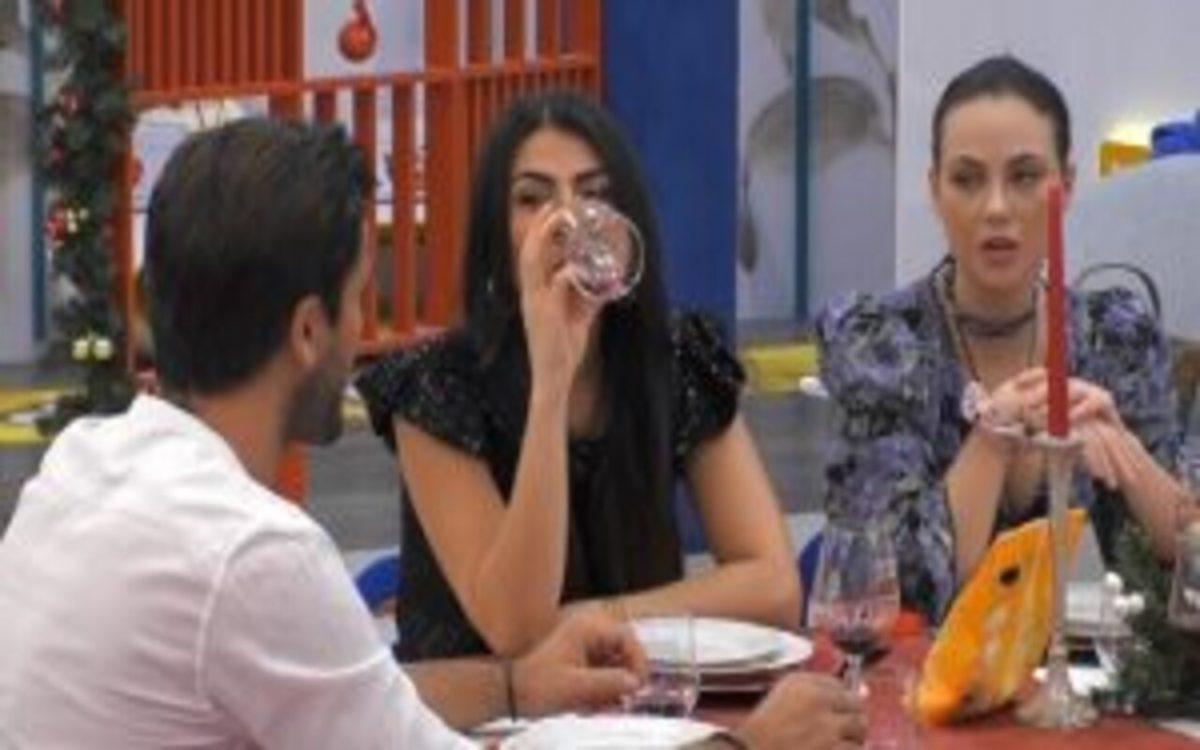 GF VIP |  Giulia Salemi e Pierpaolo Pretelli |  si confidano di notte