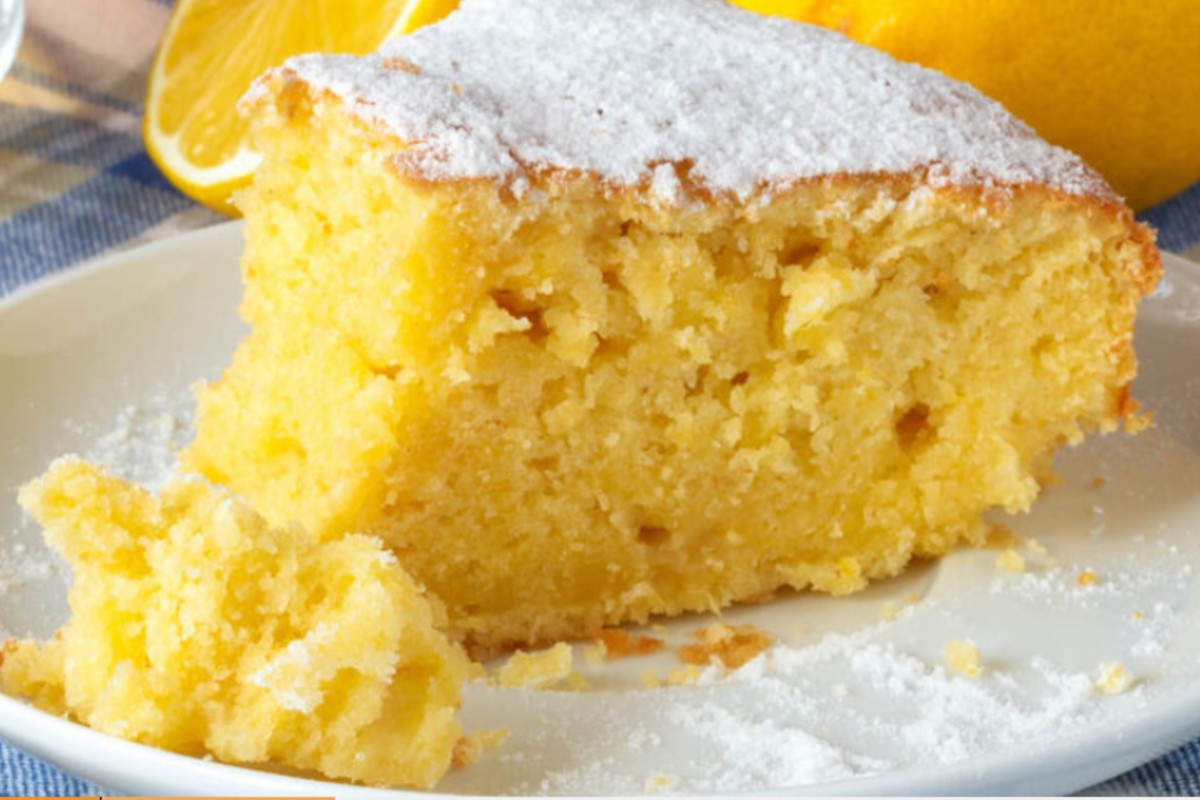 la torta al limone senza torta al limone