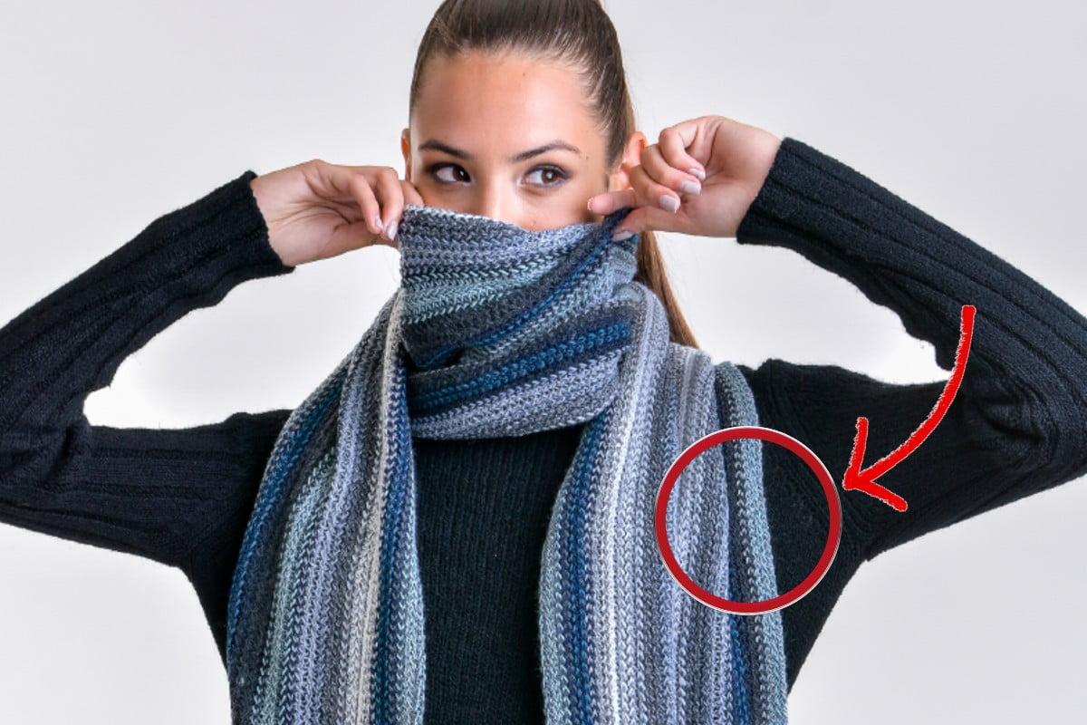 la tua sciarpa lascia pelucchi? Fai così per ovviare a questo inconveniente
