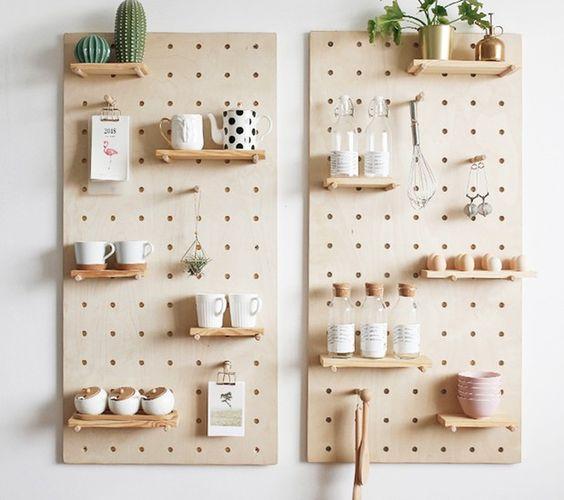 organizzare la cucina con mobili 3