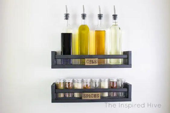 organizzare la cucina con mobili 8