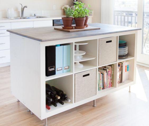 organizzare la cucina con mobili 9