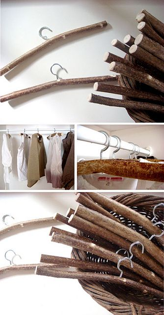 riciclare rametti di legno per 3