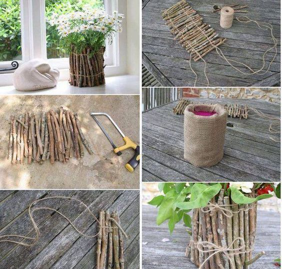riciclare rametti di legno per 31beba759cacc9025197a4a203003a6a