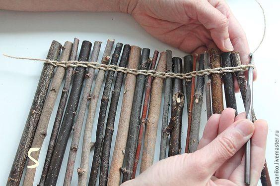 riciclare rametti di legno per db6ecae13b2d12abad57c37f8ae359f5
