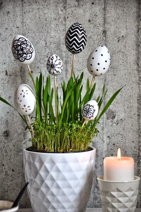 riutilizzare gusci delle uova per 3