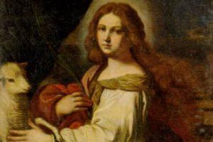 santo del giorno 21 gennaio SantAgnese