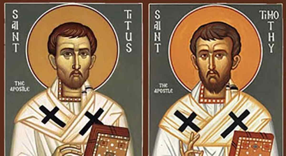 Santo del giorno 26 Gennaio: Santi Timoteo e Tito