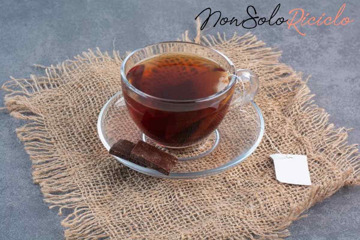 te proprieta benefici e valori cup delicious aroma tea sackcloth 114579 22179