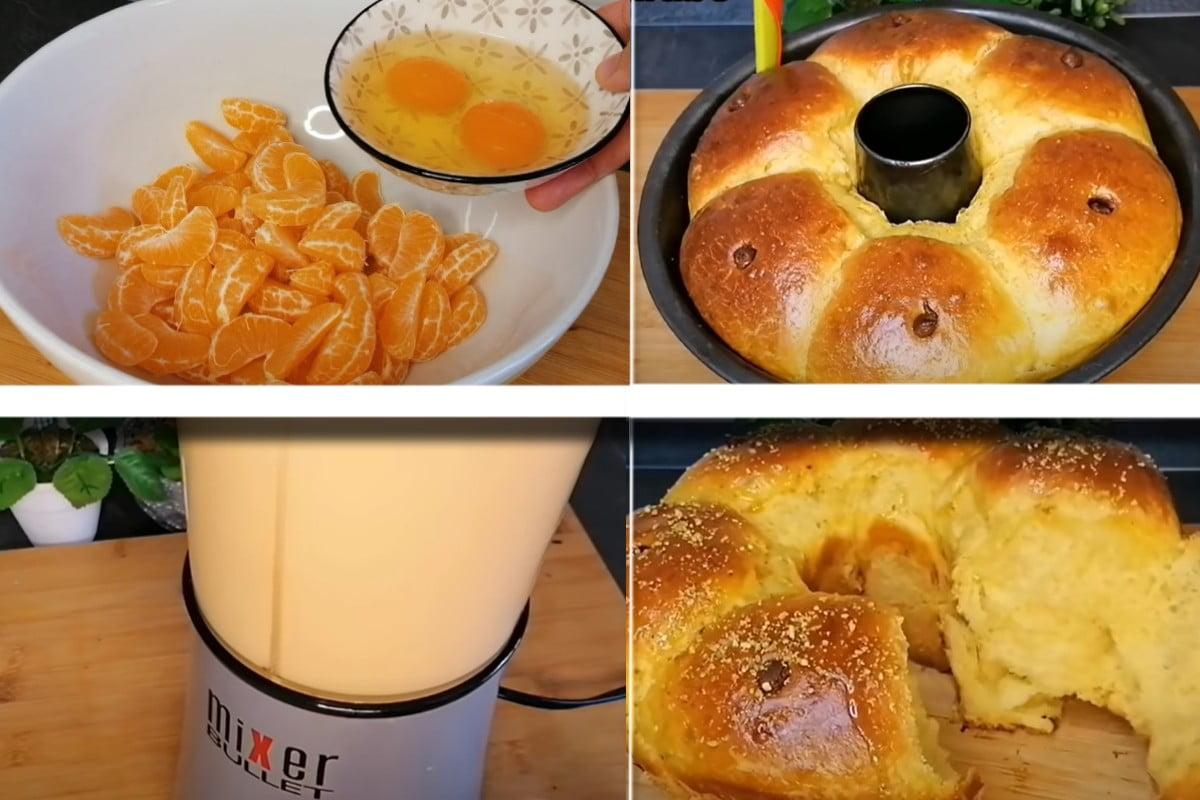 Torta con mandarini: impasto in 5 minuti, soffice e profumatissima!